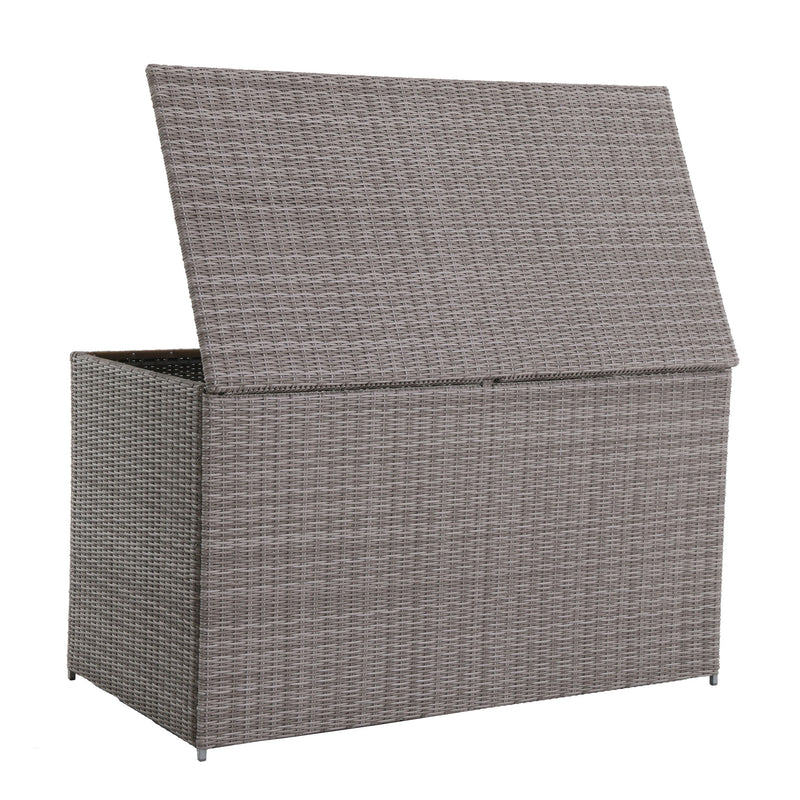 Webster Wicker Outdoor 230-Gallon Extra Large Storage Deck Box