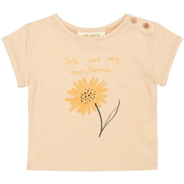 Soft Gallery Nelly T-Shirt, Winter Wheat Sunny