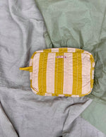 Virginia Toiletry bag, Curry