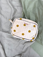 Milla Toiletry Bag, Curry