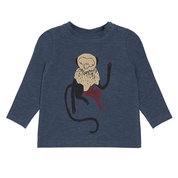 Soft Gallery Geo T-Shirt, Orion Blue Monkey
