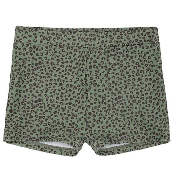 Soft Gallery Don Swim Pants, Oil Green