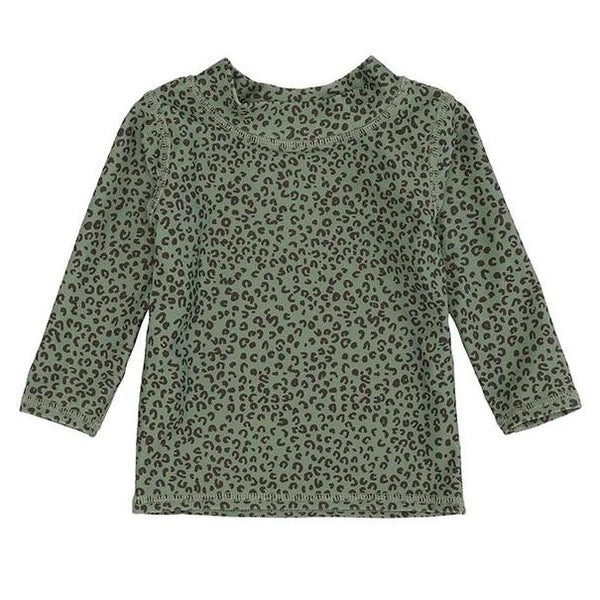Soft Gallery Baby Astin Sun Shirt, Oil Green