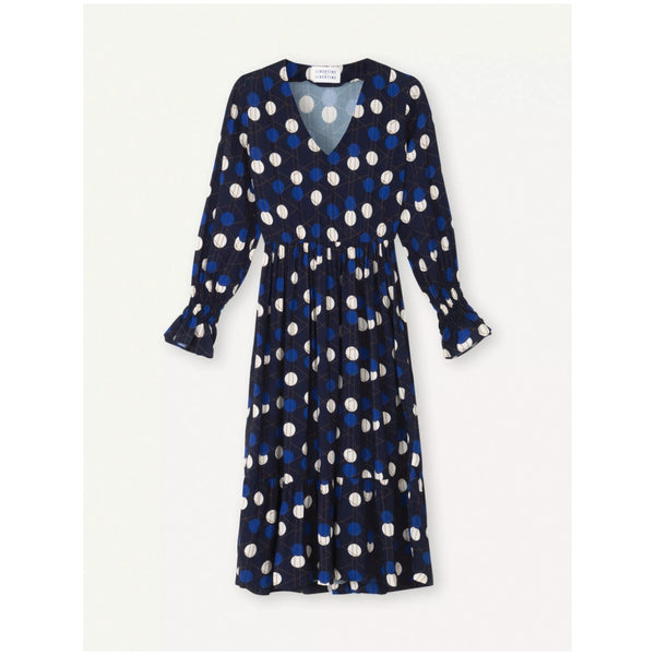 Libertine-Libertine Took Dress, Royal Blue Dot