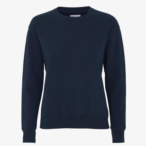 Colorful Standard Classic Organic Crew, Navy Blue