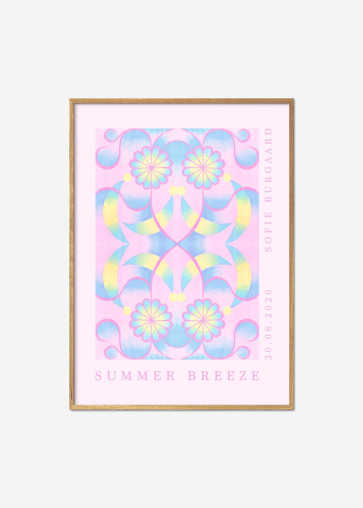 Plakat - Sofie Burgaard / Summer Breeze No. 2