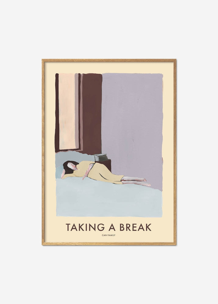 Plakat - Can Family / Taking a Break / In Bed