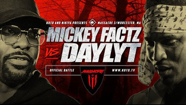 KOTD - Mickey Factz vs Daylyt - #MASS3