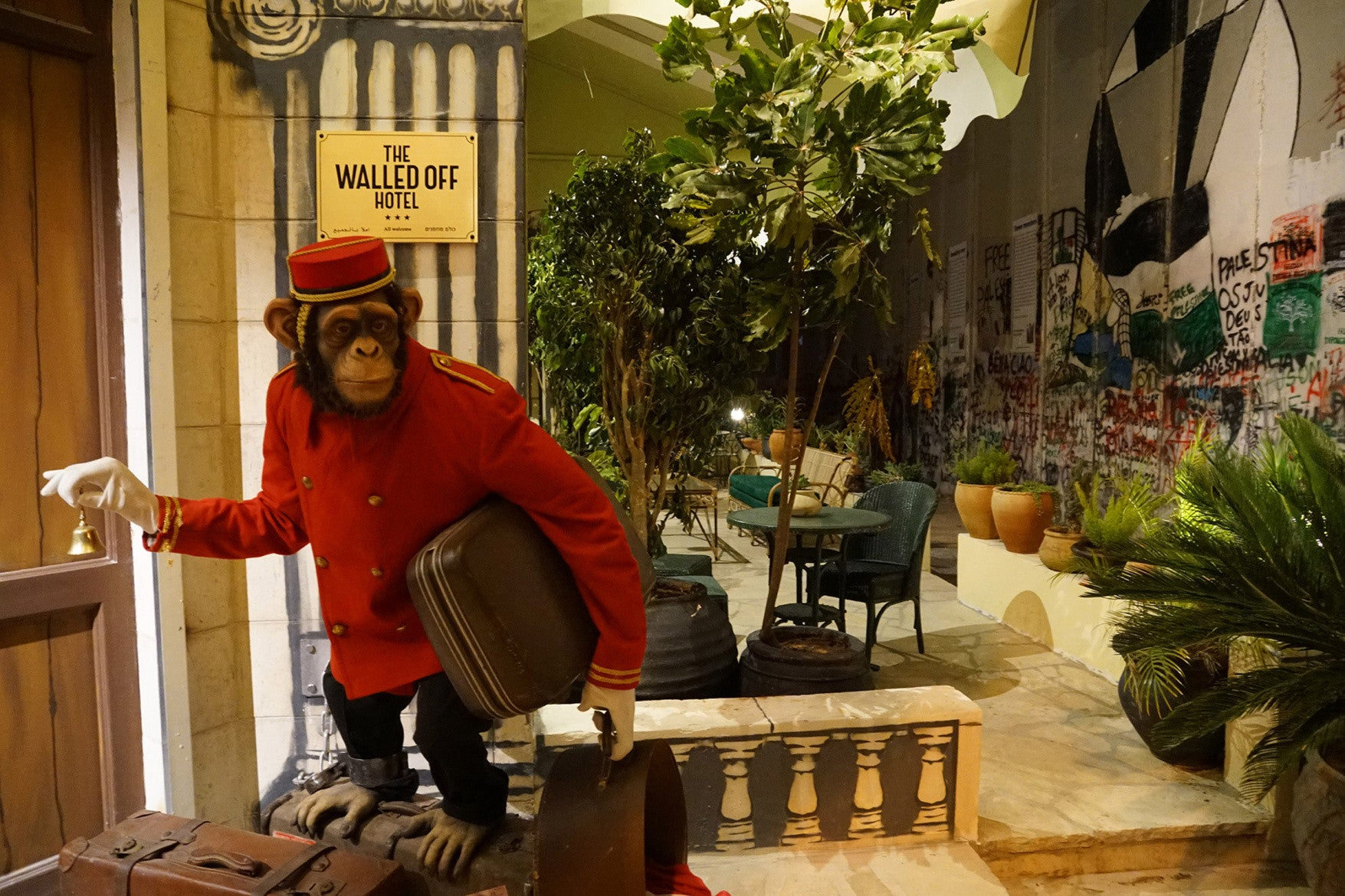 Take a Closer Look Inside the Banksy Hotel