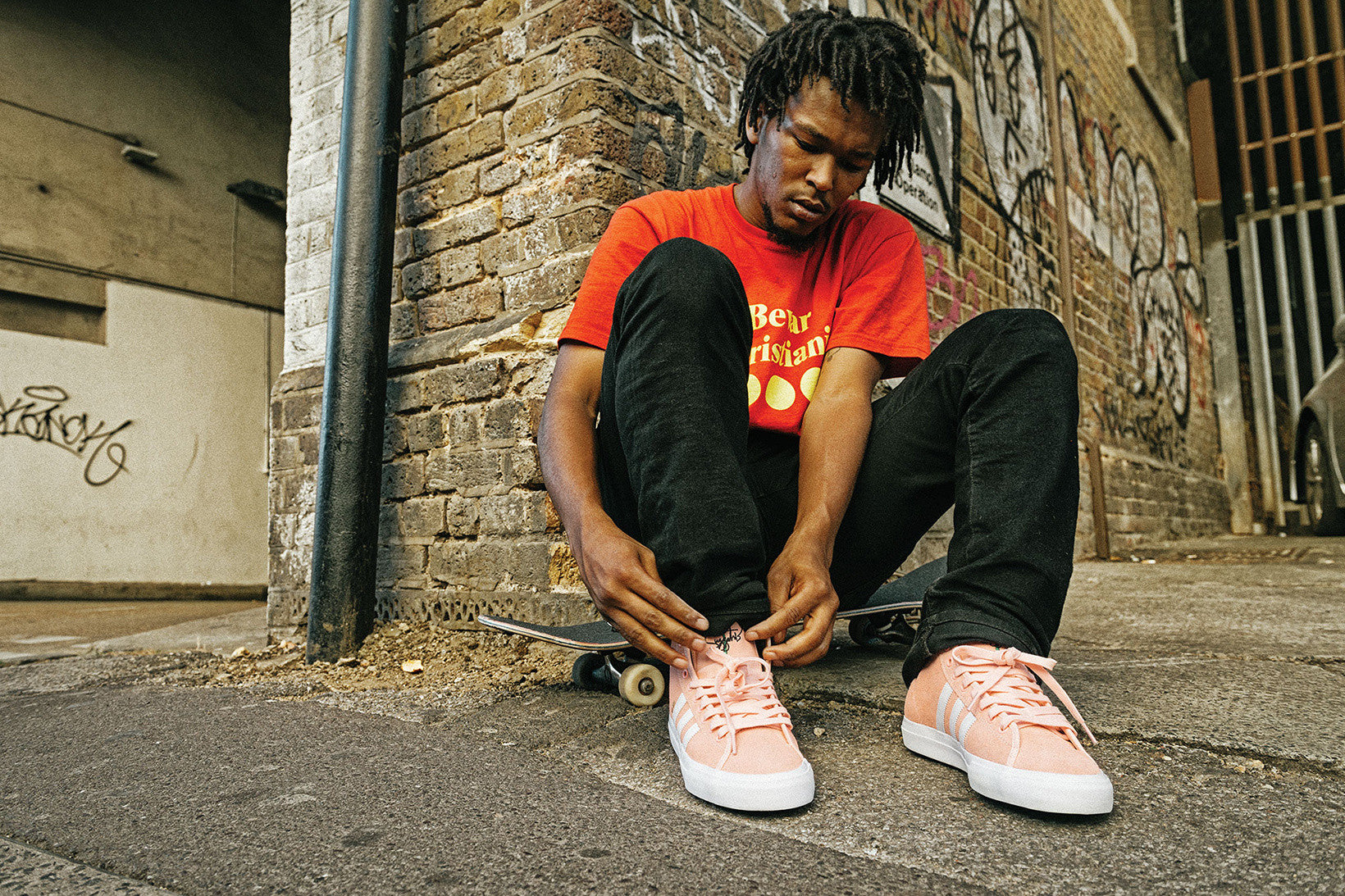 adidas Skate Team Rider Na-Kel Smith Gets His Own Matchcourt High RX