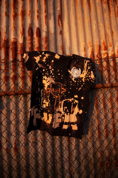 Outré collaboration tee with Chris RWK from Robots Will Kill