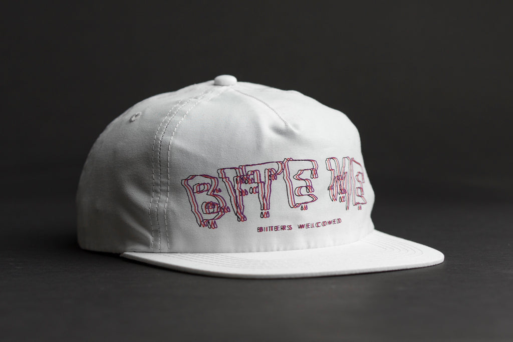 BITE ME HAT - WHITE