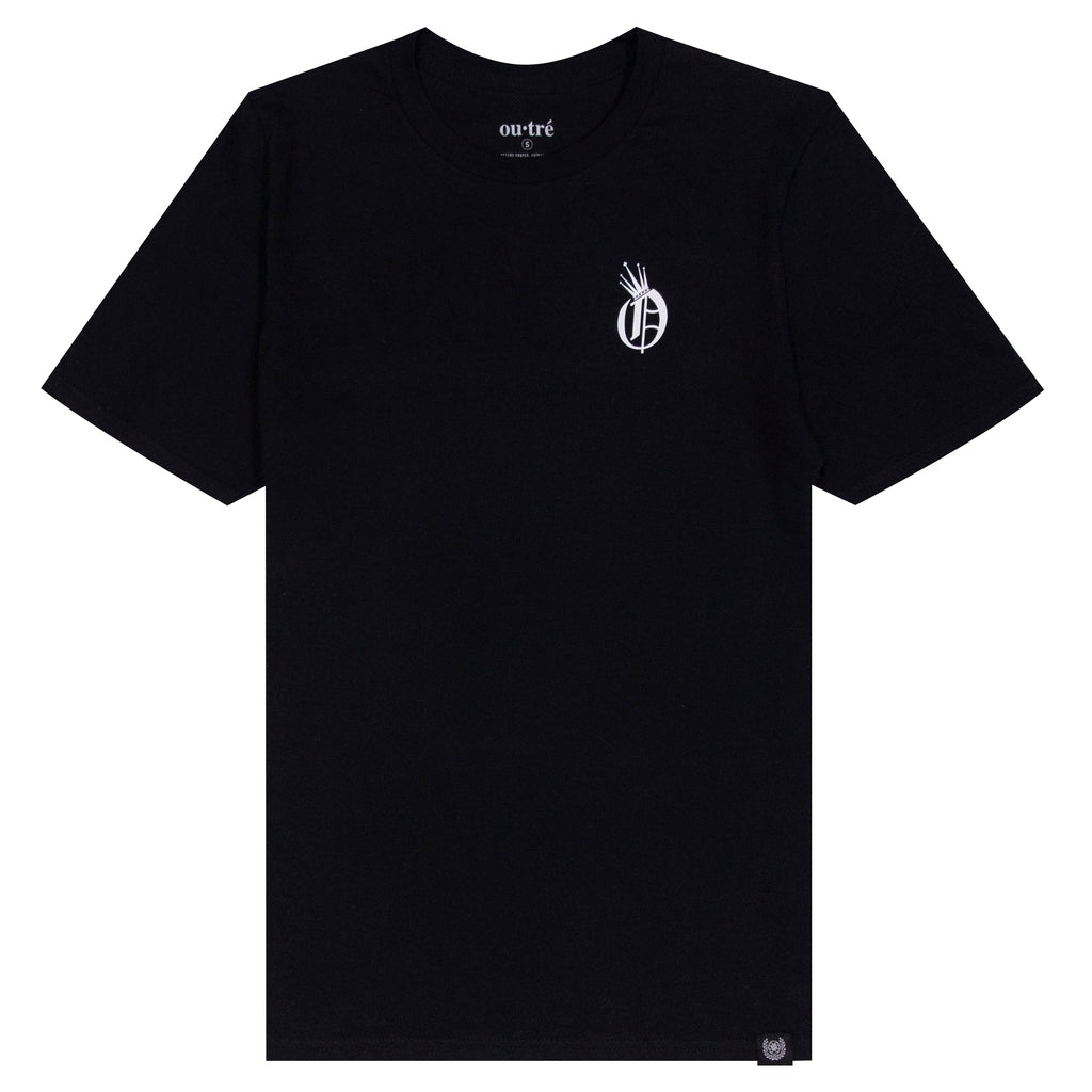 ROYAL TEE- BLACK