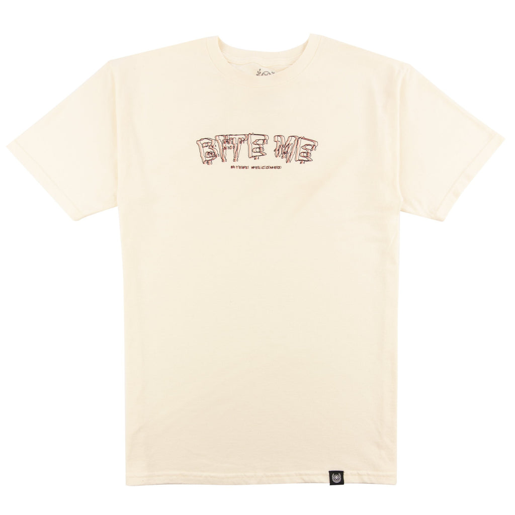 Outre bite me shirt - Off White
