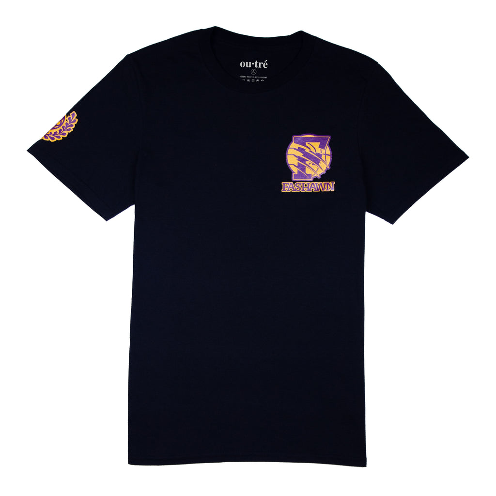 FOR KOBE TEE - BLACK (FASHAWN x OUTRE)