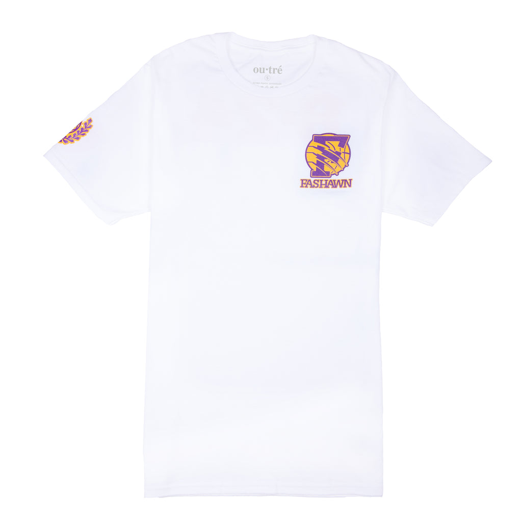FOR KOBE TEE - WHITE (FASHAWN x OUTRE)