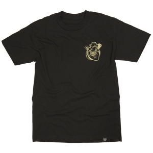 HEART OF A SAMURAI TEE- BLACK