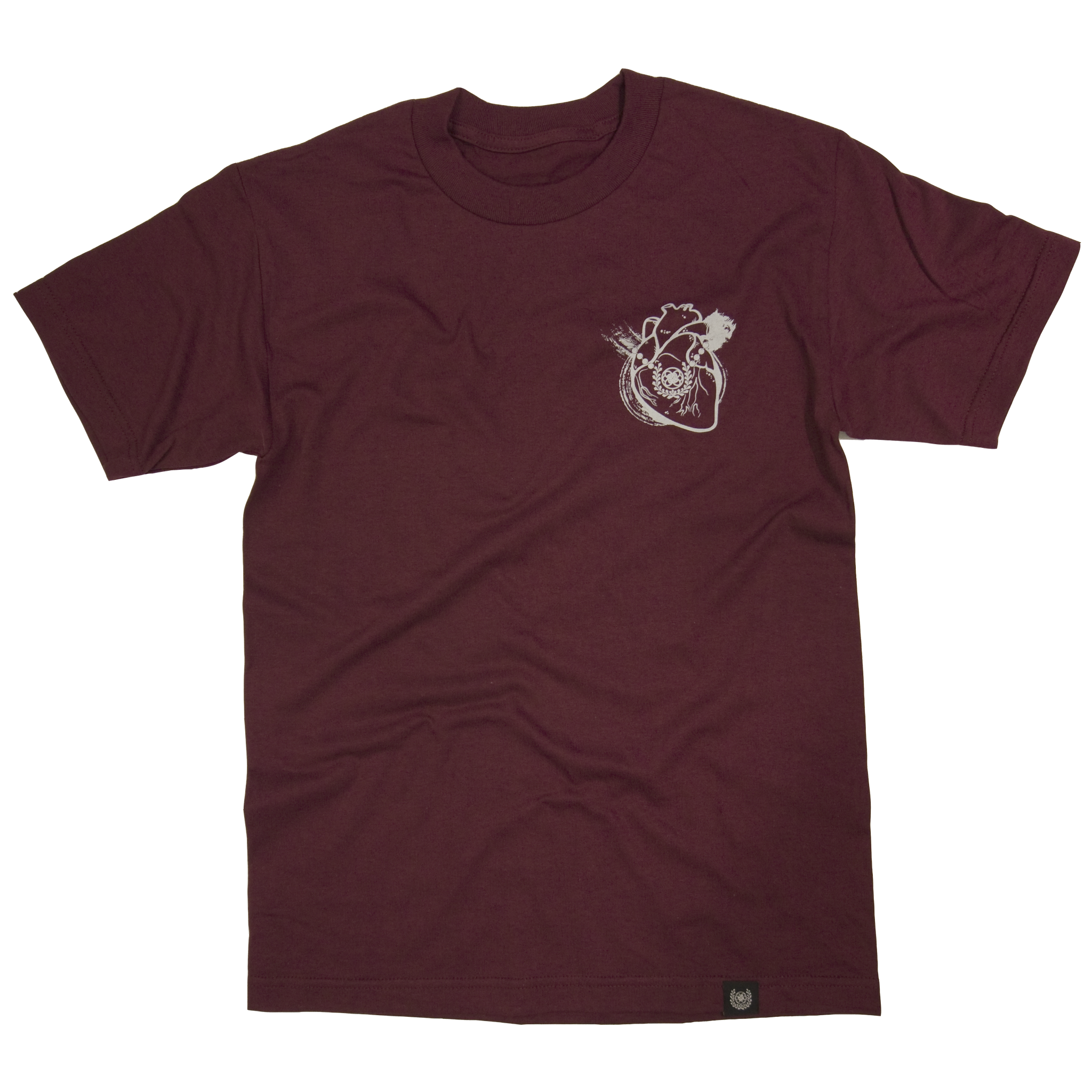 HEART OF A SAMURAI TEE- DARK BLOOD