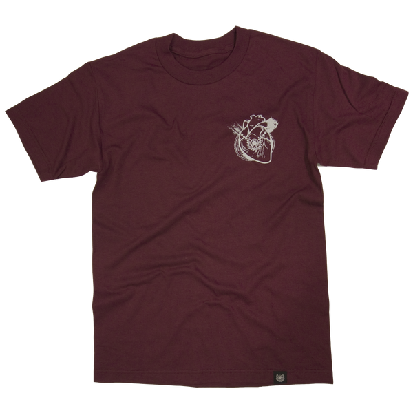 HEART OF A SAMURAI TEE- GOLD HEART