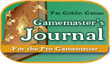 The Gamemaster's Journal Line Plans