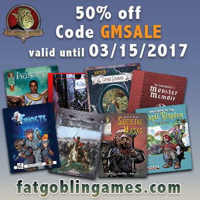 Grab-Bag of Goodness -- GM's Day Sale, New Stock Artist for Maps, & MORE!