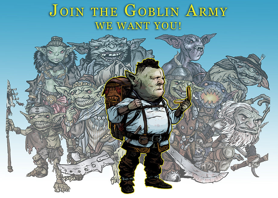 Lucus Palosaari RPG.net Q&A LIVE Tonight (7 pm - 9 pm CST) about Our Goblin Army!