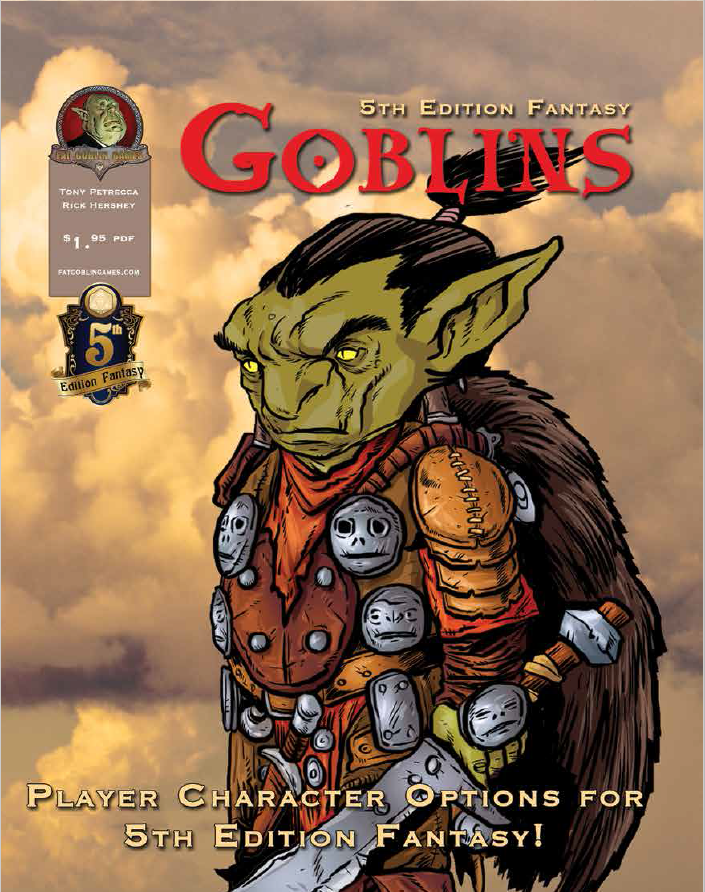Why I LOVE designing 5th Edition Races - GOBLINS!