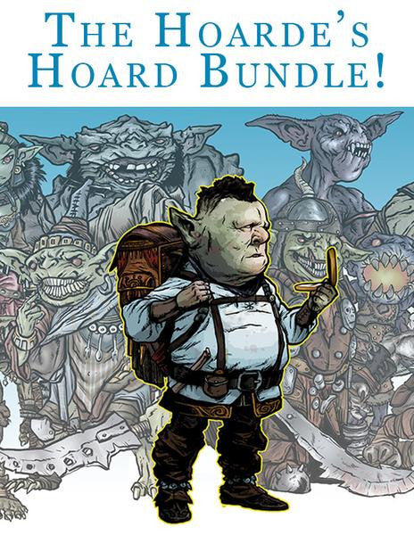 The Goblin Hoarde's Hoard Bundle on DriveThruRPG till Nov 13th, and the Moon Men are Coming!