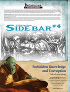 Sidebar #4 - Forbidden Knowledge and Corruption