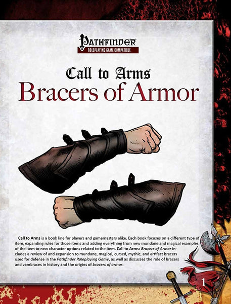 Call to Arms: Bracers of Armor