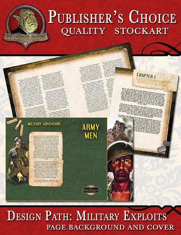 Publisher's Choice - Military Exploits (Cover & Page Backgrounds)