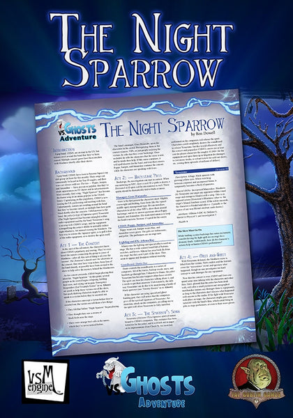 vs. Ghosts Adventure: The Night Sparrow