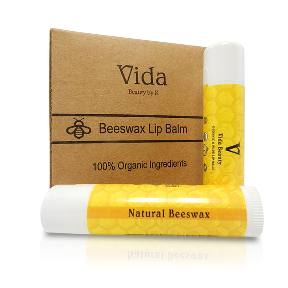 Original Beeswax Lip Balm 4 pack