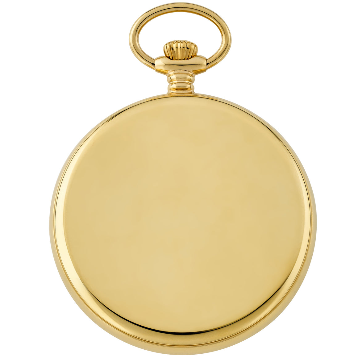 Gotham Men's Gold-Tone Stainless Steel Mechanical Hand Wind Railroad Pocket Watch # GWC14103G - Gotham Watch