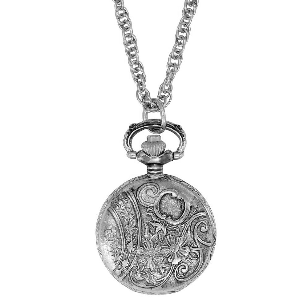 claire gold s watch necklace owl locket pendant