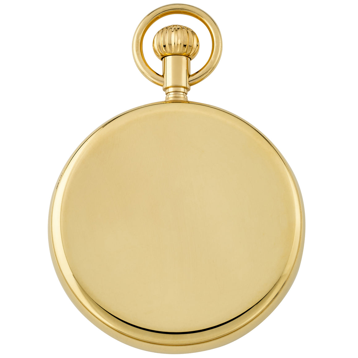 Gotham Men's Gold Plated Stainless Steel Mechanical Railroad Pocket Watch # GWC14104G