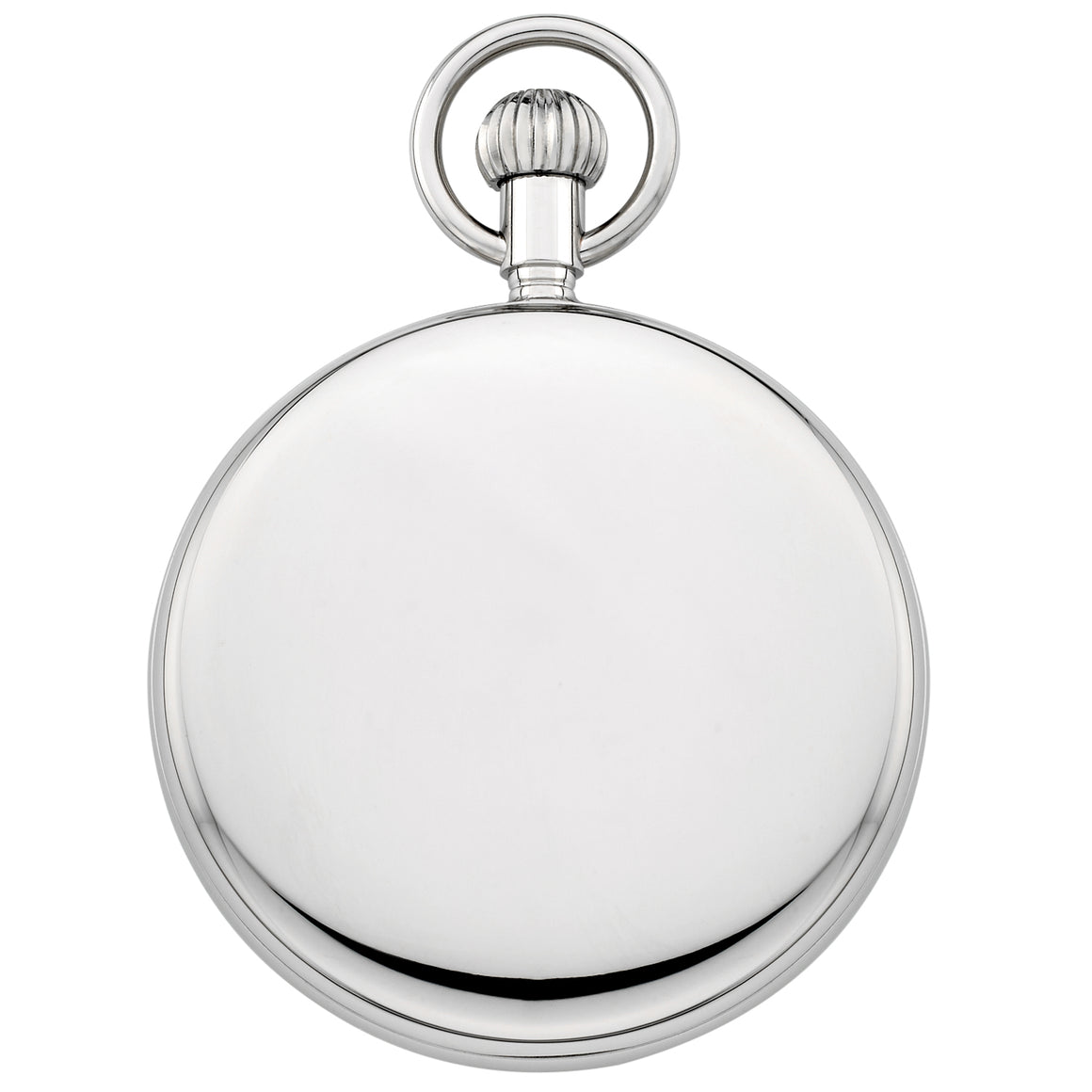 Gotham Men's Silver-Tone Mechanical Hand Wind Railroad Pocket Watch # GWC14102SB - Gotham Watch