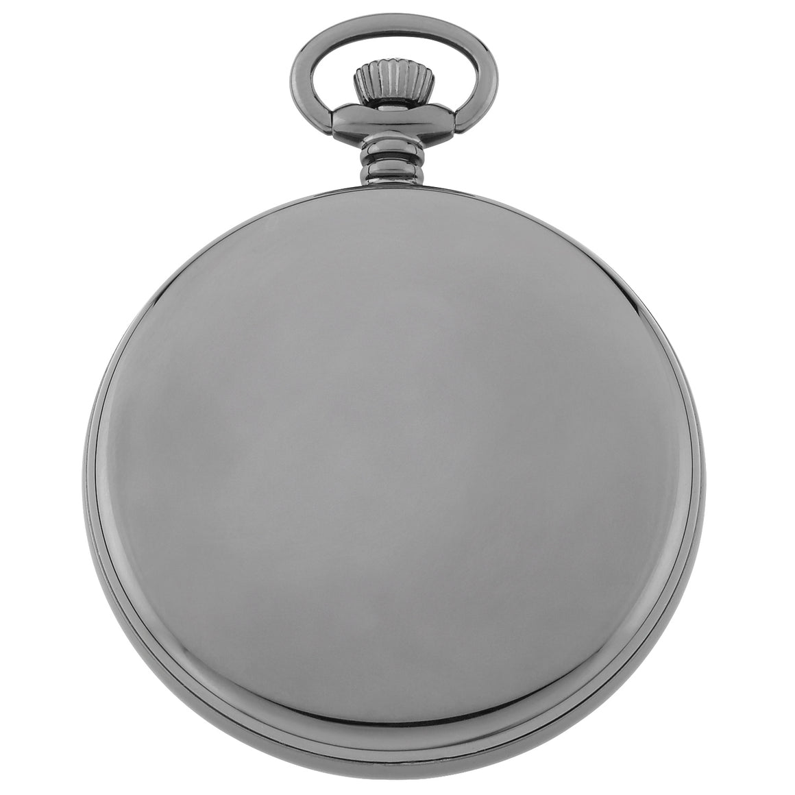 Gotham Men's Gun-Tone Mechanical Hand Wind Railroad Pocket Watch # GWC14103BBK - Gotham Watch