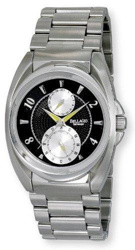 Bellagio Mens All Stainless Steel Multi-Function Bracelet Watch # GWC12024-3S - Gotham Watch