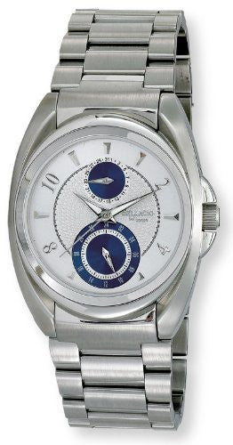 Bellagio Mens Stainless Steel Multi-Function Day Date Bracelet Watch # GWC12024-1S - Gotham Watch