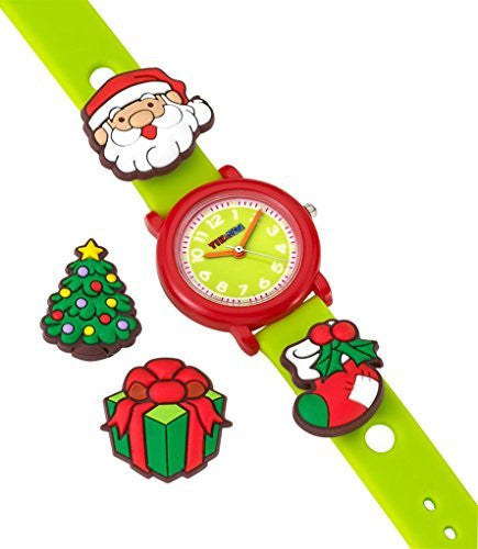 Tik & Tag Kid's Time Teacher Christmas Theme Interchangeable Analog Quartz Watch Set # GWC705