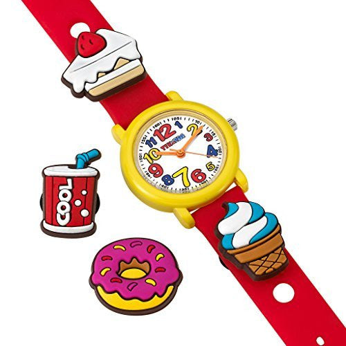 Tik & Tag Kid's Time Teacher Party Time Theme Interchangeable Analog Quartz Watch Set # GWC704
