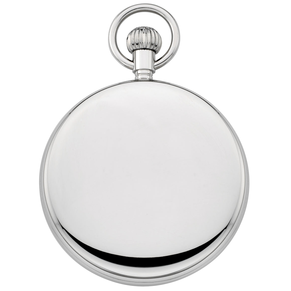 Gotham Men's Silver-Tone Mechanical Hand Wind Railroad Pocket Watch # GWC14102S - Gotham Watch