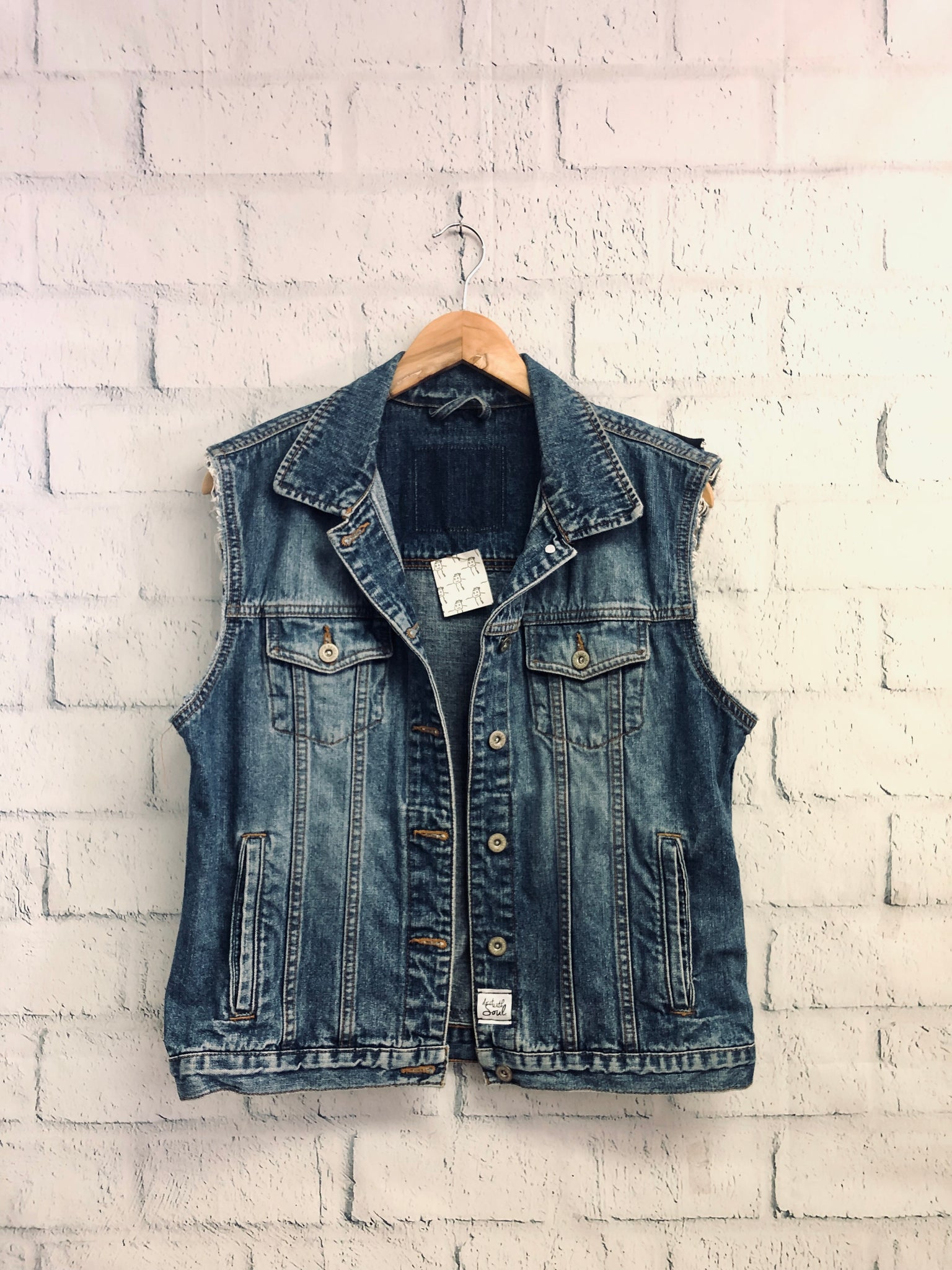 KISS Band Denim Vest