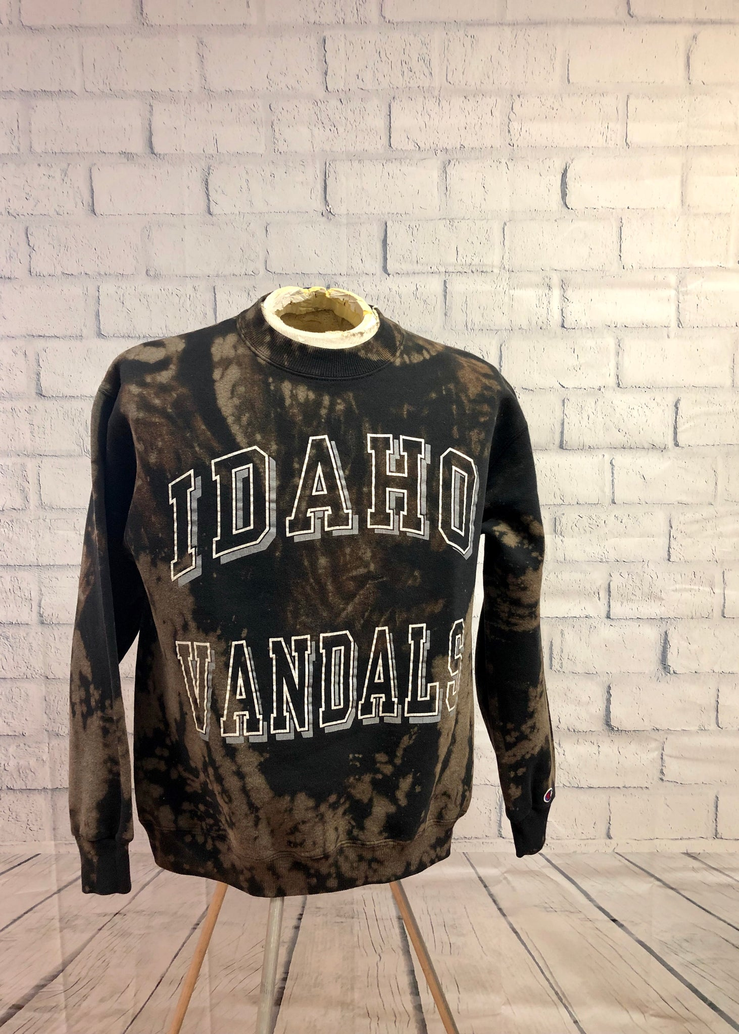 University of Idaho Grunge Sweatshirt