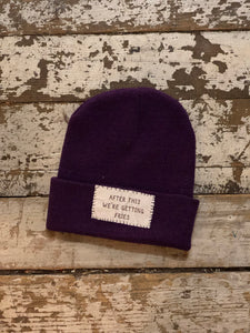 Getting Fries Beanie - Kids