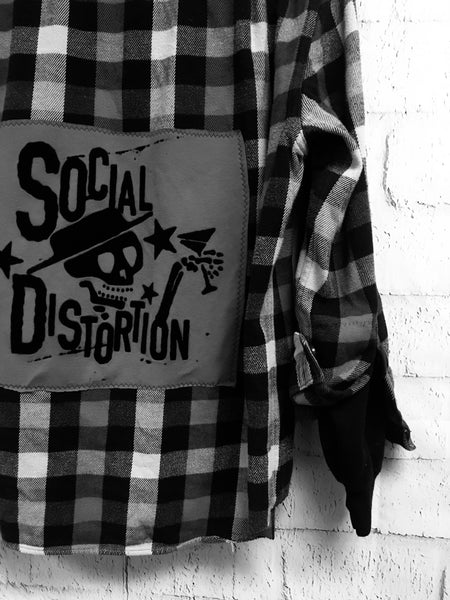 Social Distortion Flannel