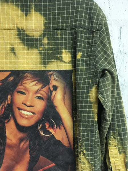 Whitney Houston Flannel
