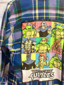 TMNT Flannel