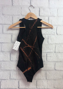 Dyed Bodysuit - Blacked Out